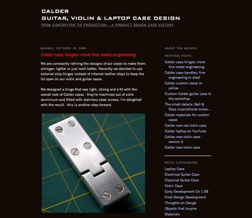Calder blog
