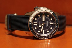 SM500 (Noodlefish) Tags: watch automatic diver 500m sm500 bremont supermarine500 sm500bl atgvintagewatches httpwwwatgvintagewatchescomwatchesbrands4bremont