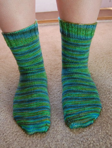 FO: County Clare traveling socks