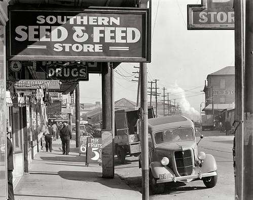 Vintage storefront