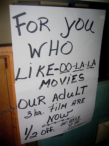 Film homage, adult films for sale, Arizona City, Arizona