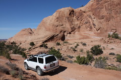 Moab heading to Fin n Things trail