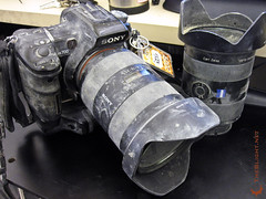 What my camera looked like after this year's Burning Man.
