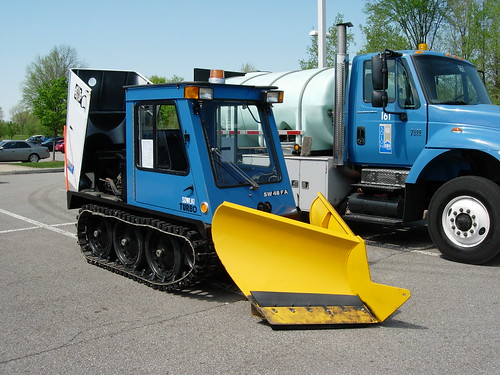 Sidewalk Plow Machine - Cyncon Equipment