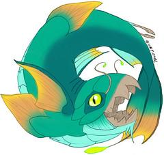 Lake Monster Logo Design