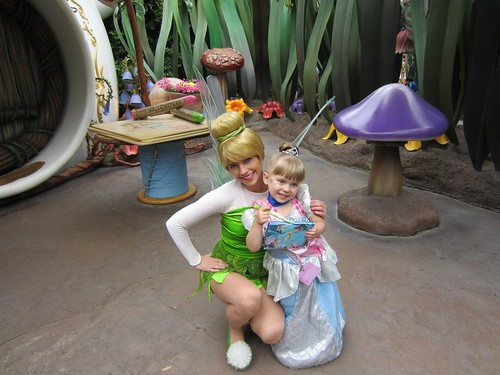 Tinker Bell and Vivianne