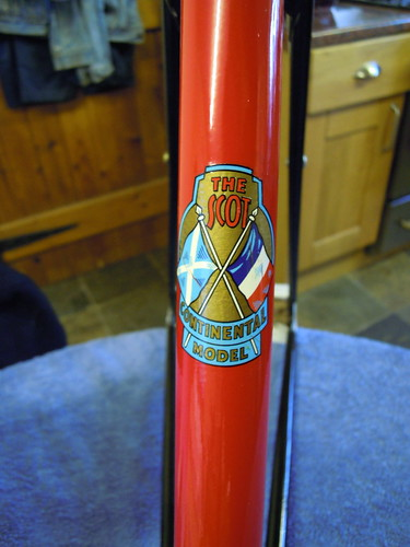 Seat Tube decals