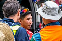 Caleb Ewan Interviewed (Serendigity) Tags: tdu tourdownunder 2017 norwood australia race sa southaustralia adelaide stage4 cycling event