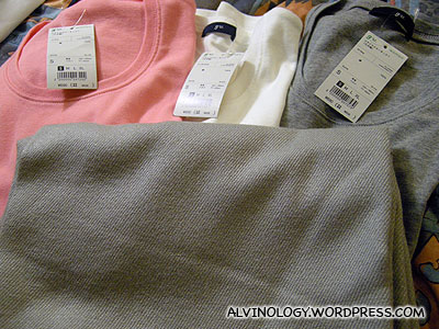 Rachels shopping haul at Uniqlo