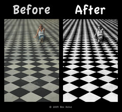 "Before/After - ""Game of Life"" (Ben Heine) Tags: travel light shadow wild sun reflection nature sepia photoshop season poster landscape photography countryside frames mac scenery poem glow photographie time nikond70 earth geometry lumire couleurs quality magic details shapes stroke philosophy manipulation harmony memory poet photoediting planet terre trick spirituality portfolio conceptual curve paysage technique wacom retouching tutorial edit rendering beforeafter specialeffects sauvage avantaprs trucs originalversion godspainting digitalshot benheine effetsspciaux graphicenhancement editingtools tablettegraphique finalwork colourscolors hubertlebizay hubzay flickrunited kleurentones"