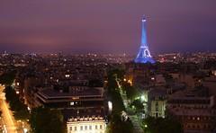 Eiffel Tower Illuminated