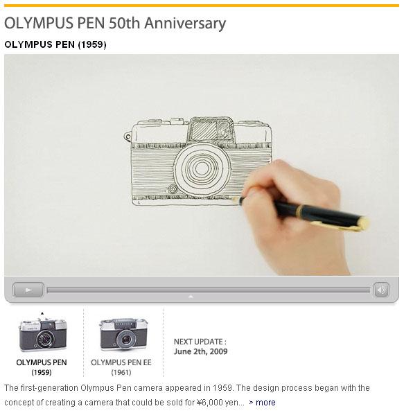 Olympus PEN 50th Anniversary Videos