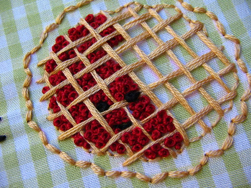 french knot cherries