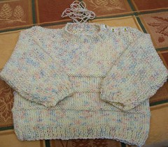 20090527 Baby Sweater Finished