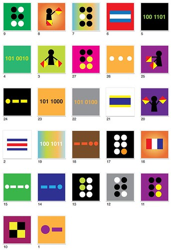 27 symbols (not in order) are todays clue in the Search for N