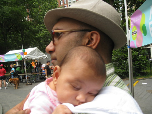 Laila at Madison Square Park Kids Fest