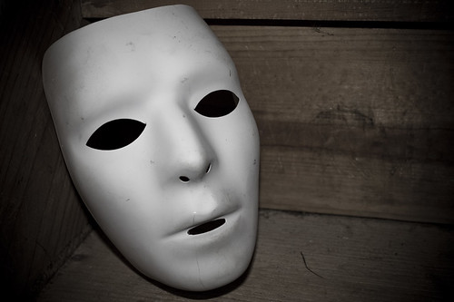 Mask ... for going into hiding