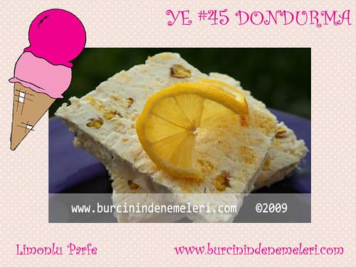 Limonlu Parfe - Burcinin Denemeleri