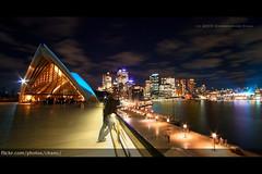 Vivid Sydney (#198) (Christopher Chan) Tags: light panorama festival skyline night canon sydney australia circularquay nsw newsouthwales brianeno luminous 1022mm sydneyoperahouse 30d snaptweet vividsydney lightingthesales