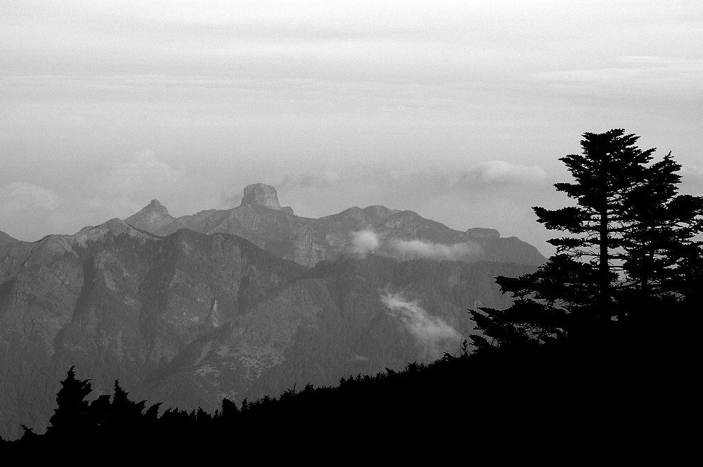 南湖大山day3-12 大霸尖山