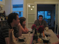 Stuart and Krissa come to dinner