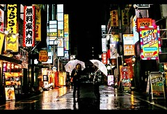 Rainy night (Noisy Paradise) Tags: street city longexposure light urban japan night tokyo shinjuku neon sigma explore kabukicho   foveon   dp2 photoexplore sigmadp2