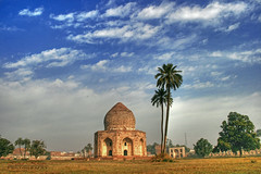Asif Khan tomb- lahore ,Pakistam (Iqbal.Khatri) Tags: pakistan heritage history asia south tomb era khan punjab lahore asaf mughal iqbal khatri travelandplaces