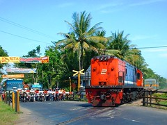 KLB ft CC201-57 Locomotive @ PJL Kutowinangun (chris railway) Tags: railroad station train indonesia tren eisenbahn railway zug locomotive bahn klb ka spoor treinen ferrocarril ferrovia rel gleis treni spoorweg makina  ferroviaria   ggw chemindefer  pocig       lokomotywa gerobak   demiryolu kebumen keretaapi  gerbong trainphotography  ngst cc201   tuho     cc20157 oto kutowinangun   umayxela sidulich  eisenbahnzgen   kolejowych ferrovipathe ferrovira fotografiaferrovira