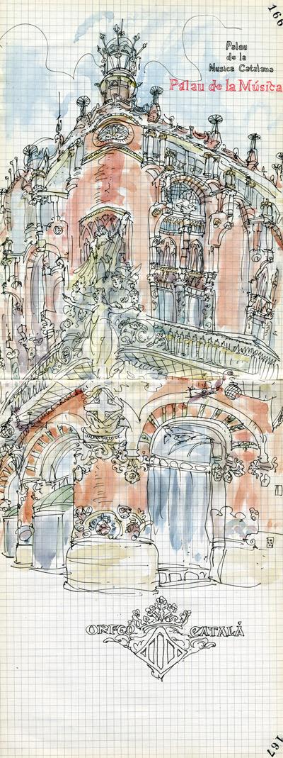 palau de la musica catalana ( barcelona)