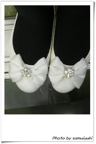 你拍攝的 新鞋兒~。