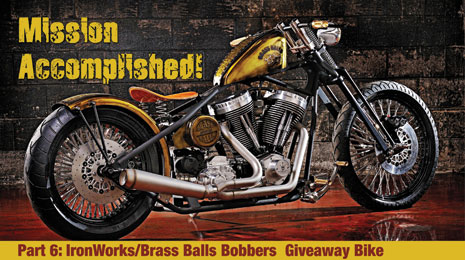 PART 6 - Final Assemble - 2009 Giveaway Bobber