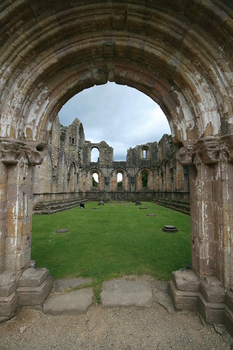 Fountains Abbey, Ripon, Yorkshire