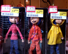 YA! I got the Coraline dolls ON SALE!! (hvyilnr) Tags: movie dolls sale score neilgaiman coraline neca hvyilnr henrysellick