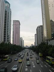 streetscape, guangzhou