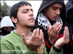 Palestinian Muslims Praying in Jerusalem (jasonmoore) Tags: man male men worshipping horizontal kneel religious israel worship muslim islam faith jerusalem prayer religion pray praying crowd protest middleeast culture belief demonstration arab bow devotion muslims custom kneeling lionsgate oldcity prayers prays islamic palestinians bowing arabs alquds palestinian devout moslem eastjerusalem moslems
