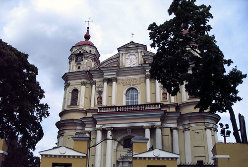 One of the many Churches in Vilnius. Photo: Ulla Hennig