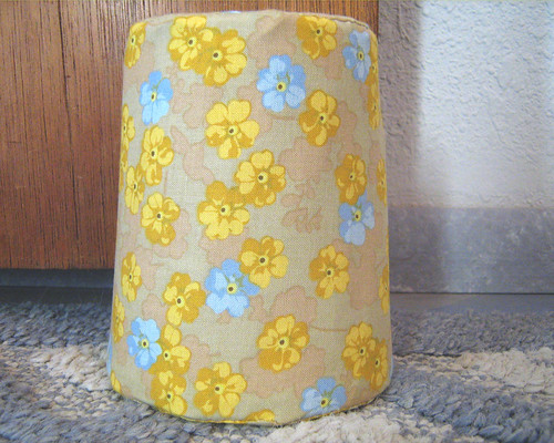 fabric covered doorstop