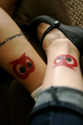Owl Tattoos On Feet Picture 5