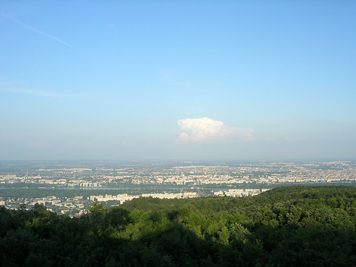 Budapest from Hármashatárhegy 3