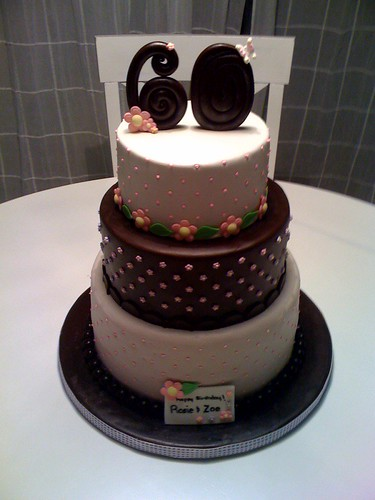 60th Birthday Cakes For Women