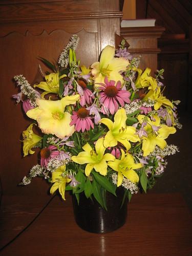 bouquet for church
