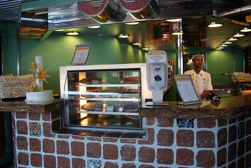 24-Hour Pizza Station on Lido Deck (Carnival Splendor)