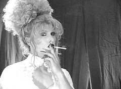 hostess_05 (Heather Renee) Tags: fetish capri heather smoking transgender more transvestite crossdresser 120s