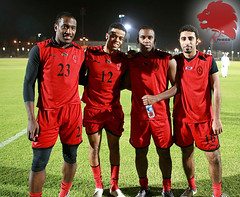 Al-Rayyan first training for the new season 2009-2010 (A L R a h e e b . N e t) Tags:     rayyan    alrayyan raheeb