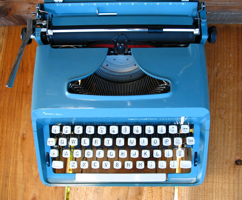 "Sperry-Rand Remington Personal Writer c1960's? ""Babs"""