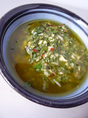 Chimmichurri Sauce by you.