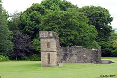 Remains of Eglinton Castle - Eglinton Country Park, Irvine, Scotland