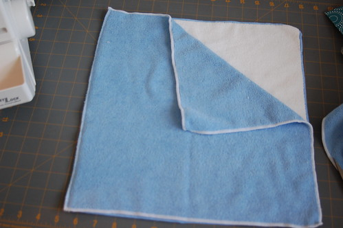 Make your Own Microfiber Steam Mop Pads