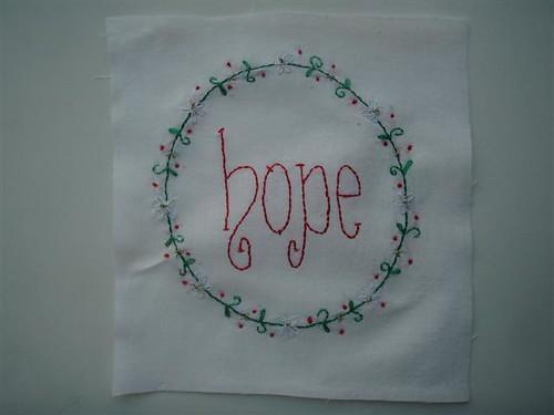 Christmas Wish Block 4 - Hope