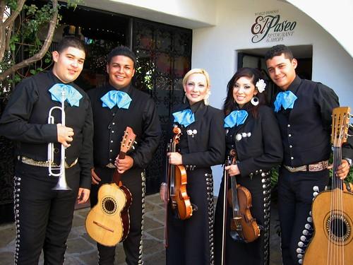 Santa Barbara Fiesta Young Mariachis